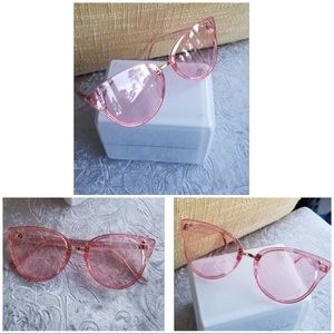 Imported  plastic frame  mirrored lens  non-pol